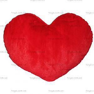 Мягкая игрушка «Сердце» красное, 500845