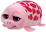 Мягкая игрушка Teeny Ty's «Розовая черепаха Shuffler», 42145, фото