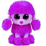 Мягкая игрушка TY Beanie Boo's «Розовый пудель», 37203, фото
