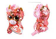 """Мягкая игрушка """"Розовый единорог. SUNSET"""""""", 12 см , 35307, toys"""