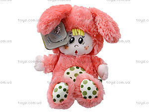 Мягкая игрушка «Зайчик Крошка», К357А, игрушки