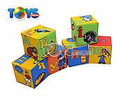 Мягкие кубики «Абетка», 1253, игрушки