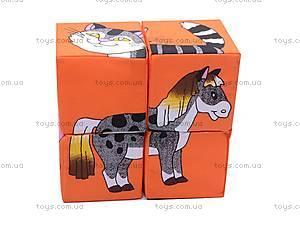 Мягкие кубики «Домашние животные», , купить