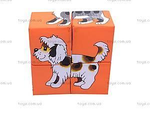 Мягкие кубики «Домашние животные», , игрушки