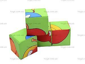 Мягкие кубики «Фрукты», , купить