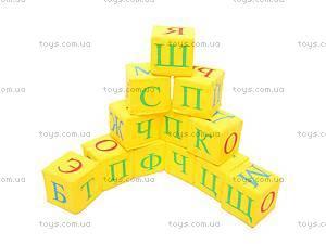 Мягкие кубики «Украинская азбука»,