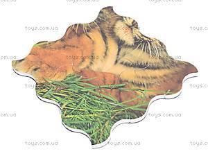 Мягкие магнитные пазлы «Тигрята», M-027, фото