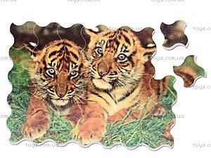 Мягкие магнитные пазлы «Тигрята», M-027, отзывы
