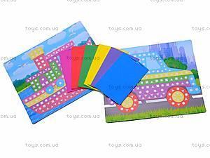 Мягкие наклейки «Веселая мозаика», MЭ-001...004, отзывы