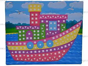 Мягкие наклейки «Веселая мозаика», MЭ-001...004, цена