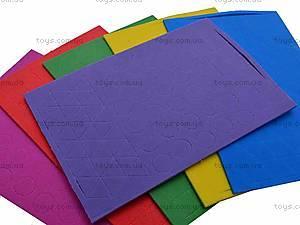 Мягкие наклейки «Веселая мозаика», MЭ-001...004, игрушки