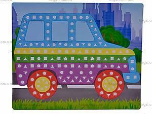 Мягкие наклейки «Веселая мозаика», MЭ-001...004, детские игрушки