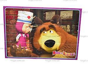 Мягкие пазлы А5 «Маша и Медведь», VT1106-28..33, игрушки
