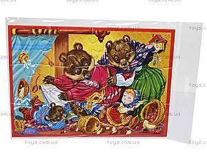 Мягкие пазлы-картинки А5 «Сказки», VT1103-02, детские игрушки