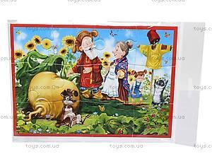 Мягкие пазлы-картинки А5 «Сказки», VT1103-02, toys