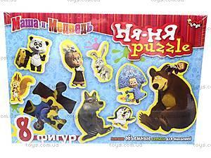 Мягкие пазлы Ня-ня «Маша и Медведь», , купить