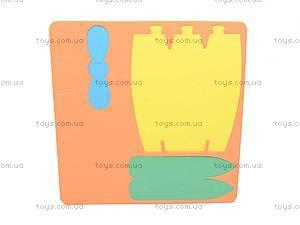 Мягкий 3D конструктор «Гидроплан», VT130201, купить