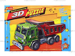 Мягкий 3D-конструктор «Грузовик», 6426, отзывы