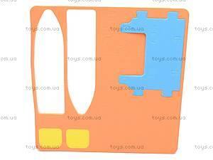 Мягкий 3D конструктор «Катамаран», VT130202, игрушки