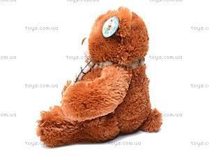 Мягкий детский медведь, с шарфом, S-YZ-4036/30S, отзывы