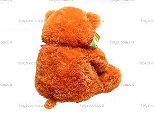 Мягкий детский медведь «Веселун», 10.01.02, игрушки
