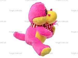 Мягкий динозаврик, в шарфике, SP09164, фото