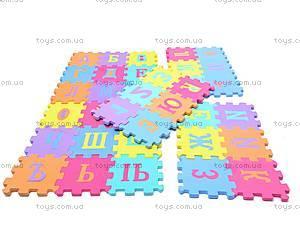 Мягкий коврик-пазл «Русский алфавит», JC-B678AA