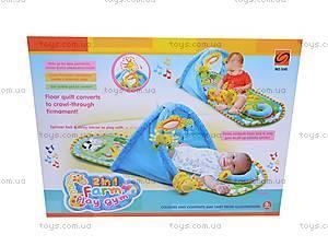 Мягкий коврик с погремушками, 595, игрушки
