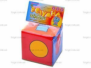Мягкий кубик-погремушка, , купить