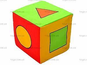 Мягкий кубик-погремушка, , отзывы