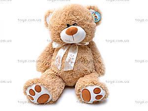 Мягкий медведь с бантом, S-JY-4051/40S
