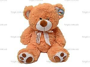 Мягкий медведь с бантом, S-JY-4051/40S, игрушки