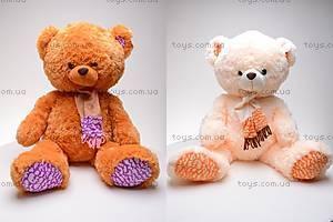 Мягкий медведь, с шарфом, S-SK-9277/50S