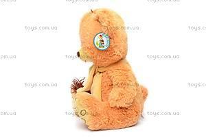 Мягкий медведь, в шарфе, S-YZ-4296/30, отзывы