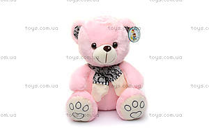 Мягкий медведь, в шарфике, S-WS755A/30