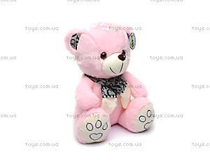 Мягкий медведь, в шарфике, S-WS755A/30, купить