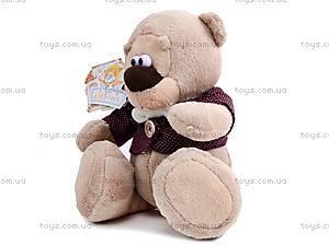 Мягкий медвежонок «Жан», К244В, цена