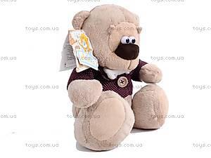 Мягкий медвежонок «Жан», К244В, игрушки
