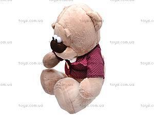 Мягкий медвежонок «Жан», К244В, фото