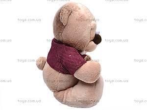 Мягкий медвежонок «Жан», К244В, отзывы