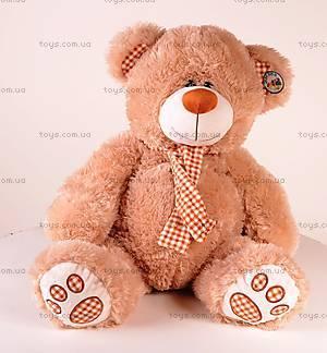 Мягкий медвежонок, с бантиком, S-JY-4052