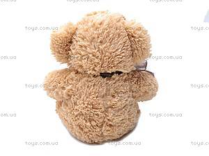 Мягкий медвежонок, с бантом, S-JY4505/30, фото