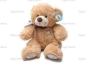 Мягкий медвежонок, с бантом, S-JY4505/30