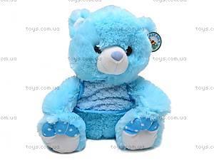 Мягкий медвежонок, в кофте, S-TY90380/30
