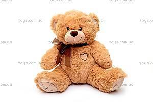 Мягкий музыкальный медведь, с бантом, S-JY4505/45, купить