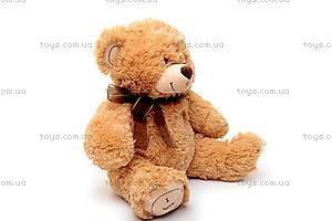 Мягкий музыкальный медведь, с бантом, S-JY4505/45, фото