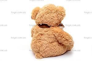Мягкий музыкальный медведь, с бантом, S-JY4505/45, отзывы