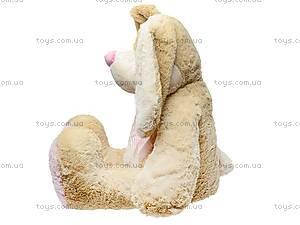 Мягкий заяц «Франя», К029А, фото