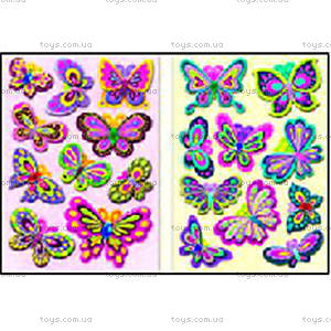Мягкие наклейки 3D Бабочки, S-402