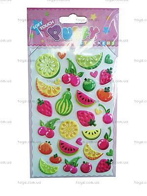 Мягкие наклейки «Фрукты-овощи», SМU-104